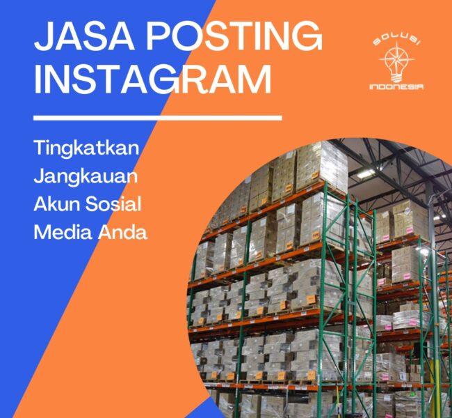Jasa Posting Instagram